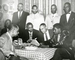 Example black and white photograph from the African-Americans in Las Vegas digital portal.