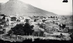 Example photograph from the Southern Nevada: Boomtown Years of a mining town.